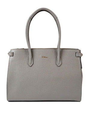 Furla: totes bags - Pin M leather tote