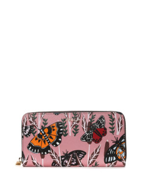 Furla: wallets & purses - Babylon butterfly print wallet