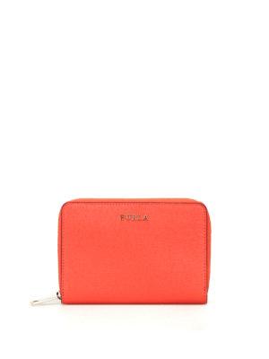 FURLA: portafogli - Portafoglio rosso Babylon XL