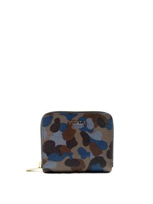 Furla: wallets & purses - Babylon S zip around leather wallet