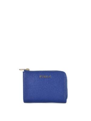 Furla: wallets & purses - Babylon saffiano zipped wallet