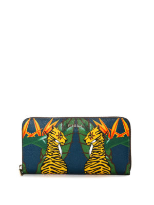 Furla: wallets & purses - Babylon tiger print wallet