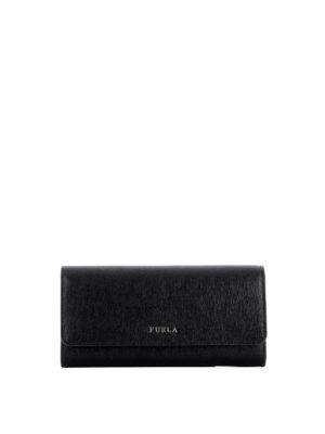 Furla: wallets & purses - Babylon XL black wallet