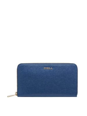 Furla: wallets & purses - BABYLON ZIP AROUND SAFFIANO WALLET