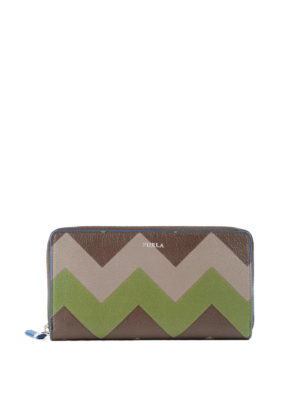 Furla: wallets & purses - Giove XL zip around leather wallet