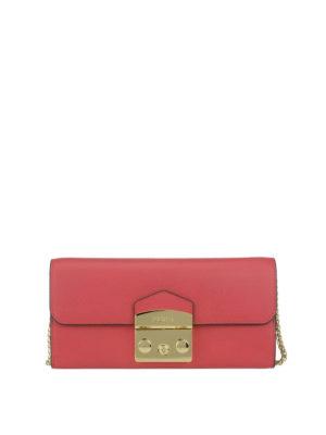 FURLA: portafogli - Portafoglio Metropolis XL ruby
