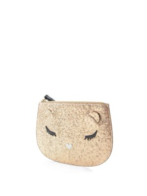 Furla: wallets & purses online - Allegra glittered extra large pouch