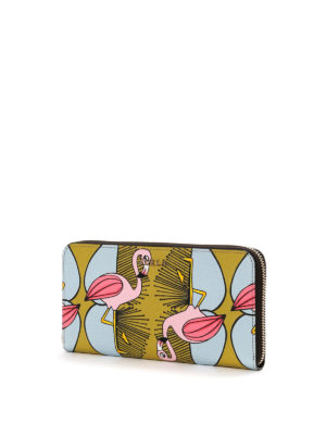 Furla: wallets & purses online - Babylon flamingo print wallet