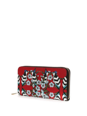 Furla: wallets & purses online - Babylon floral print wallet