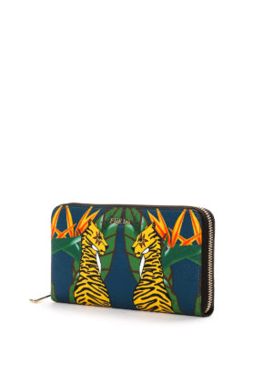 Furla: wallets & purses online - Babylon tiger print wallet