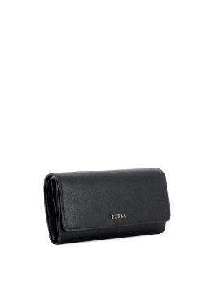 Furla: wallets & purses online - Babylon XL black wallet