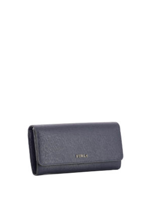 Furla: wallets & purses online - Babylon XL blue wallet