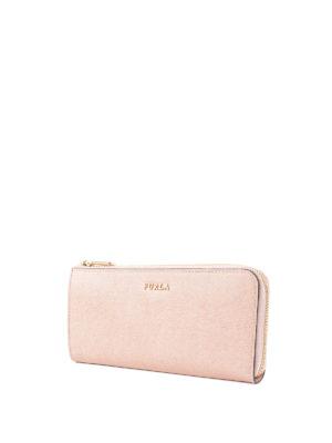 Furla: wallets & purses online - Babylon XL saffiano leather wallet