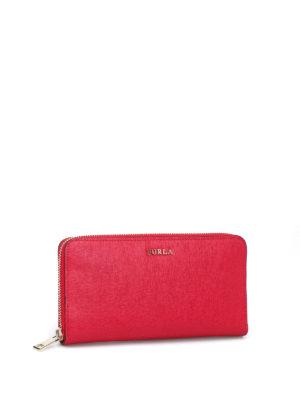Furla: wallets & purses online - Babylon XL zip around ruby wallet