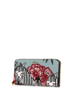 Furla: wallets & purses online - Babylon zebra print wallet