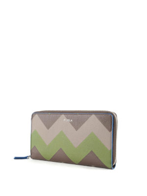 Furla: wallets & purses online - Giove XL zip around leather wallet