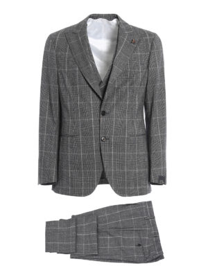 Gabriele Pasini: formal suits - Prince of Wales wool suit