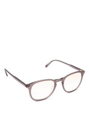 GARRETT LEIGHT: Occhiali - Occhiali da vista Kinney grigio opaco