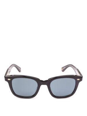 GARRETT LEIGHT: occhiali da sole online - Occhiali da sole Calabar Sun neri