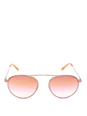 GARRETT LEIGHT: occhiali da sole online - Occhiali da sole Innes Sun merlot pearl