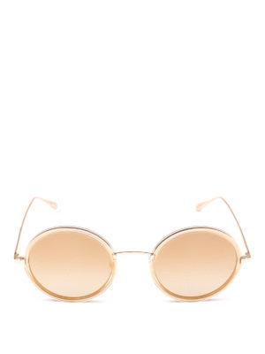 GARRETT LEIGHT: occhiali da sole online - Occhiali da sole tondi Playa Sun