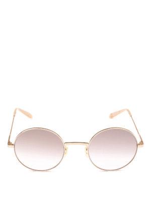 GARRETT LEIGHT: occhiali da sole online - Occhiali da sole Seville Sun dorati