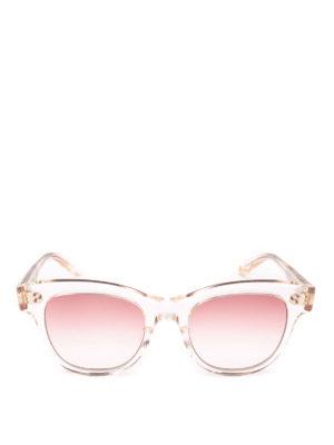 GARRETT LEIGHT: occhiali da sole online - Occhiali da sole Ulla Johnson Sun trasparenti