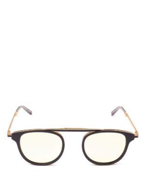 GARRETT LEIGHT: occhiali da sole online - Occhiali da sole Van Buren Combo Sun neri