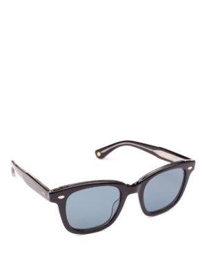 GARRETT LEIGHT: occhiali da sole - Occhiali da sole Calabar Sun neri