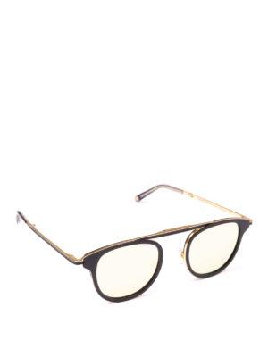 GARRETT LEIGHT: occhiali da sole - Occhiali da sole Van Buren Combo Sun neri