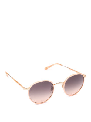 GARRETT LEIGHT: occhiali da sole - Occhiali da sole rotondi Winson Sun