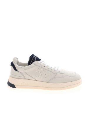 Ghoud Venice: trainers - Tweener Low sneakers in white and blue