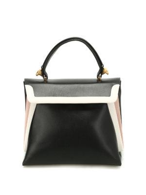 Giancarlo Petriglia: shoulder bags - Origami smooth calfskin bag