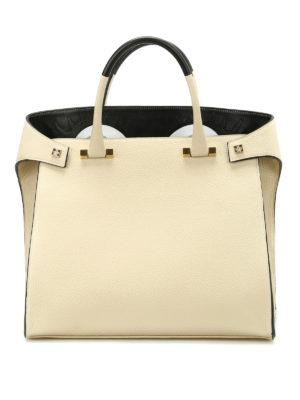 Giancarlo Petriglia: totes bags - Paloma hammered leather bag