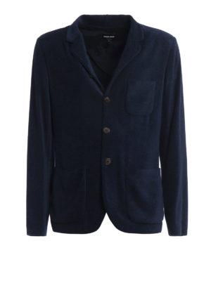 Giorgio Armani: blazers - Chenille unstructured blazer