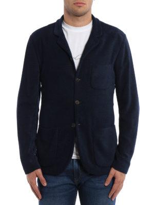 Giorgio Armani: blazers online - Chenille unstructured blazer