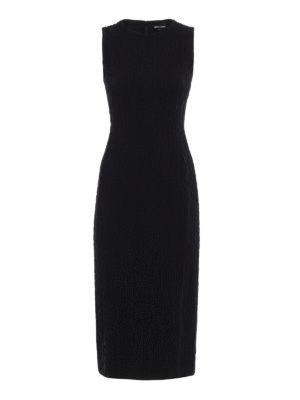 Giorgio Armani: evening dresses - Embossed stretch fabric dress