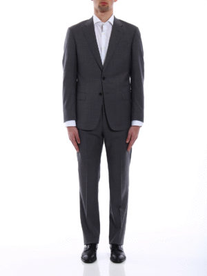 Giorgio Armani: formal suits online - Pure virgin wool formal suit