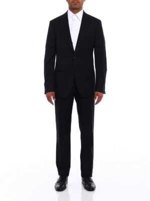 Giorgio Armani: formal suits online - Soho jacquard wool suit