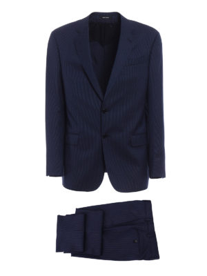 Giorgio Armani: formal suits - Pinstriped wool two-piece suit
