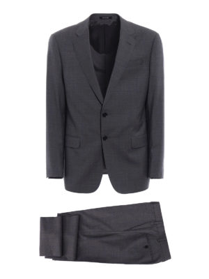 Giorgio Armani: formal suits - Pure virgin wool formal suit