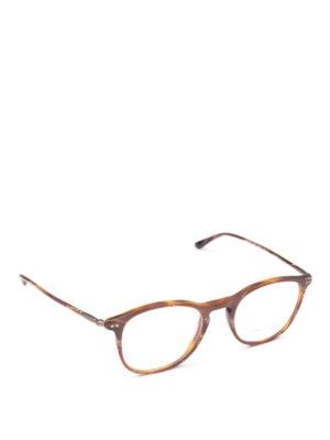 GIORGIO ARMANI: Occhiali - Occhiali da vista effetto marmorizzato