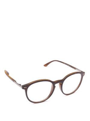 GIORGIO ARMANI: Occhiali - Occhiali da sole tartarugati opachi