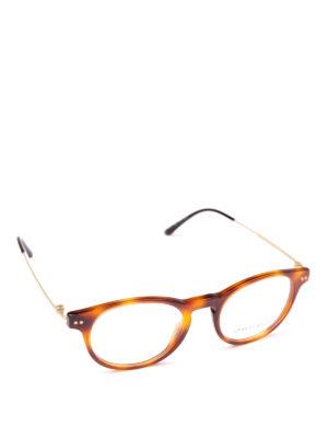 GIORGIO ARMANI: Occhiali - Occhiali da vista tartarugati