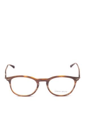 GIORGIO ARMANI: Occhiali online - Occhiali da vista effetto marmorizzato