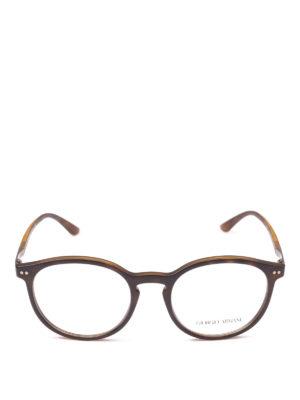 GIORGIO ARMANI: Occhiali online - Occhiali da sole tartarugati opachi