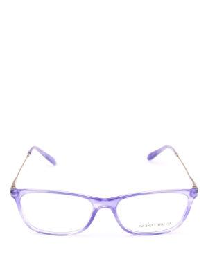 GIORGIO ARMANI: Occhiali online - Occhiali da vista in acetato viola striato
