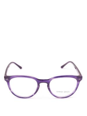GIORGIO ARMANI: Occhiali online - Occhiali da vista phantos viola striato