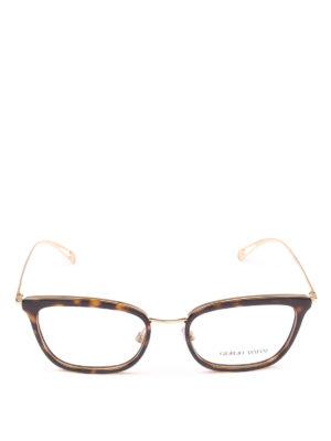 GIORGIO ARMANI: Occhiali online - Occhiali da vista rettangolari tartarugati