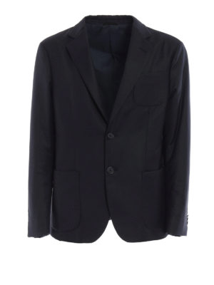 Giorgio Armani: padded jackets - Wool and cashmere padded blazer